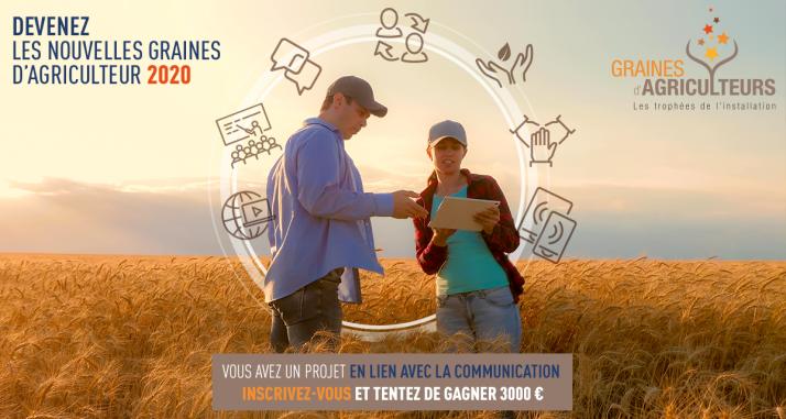 Graines agriculteurs inscriptions 2020