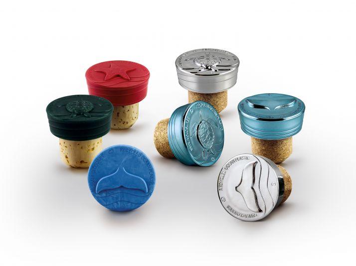Guala Closures développe une gamme de bouchons produits à partir de plastiques récoltés dans les océans
