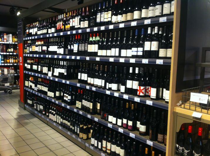 La consommation de vin affiche une baisse très importante.