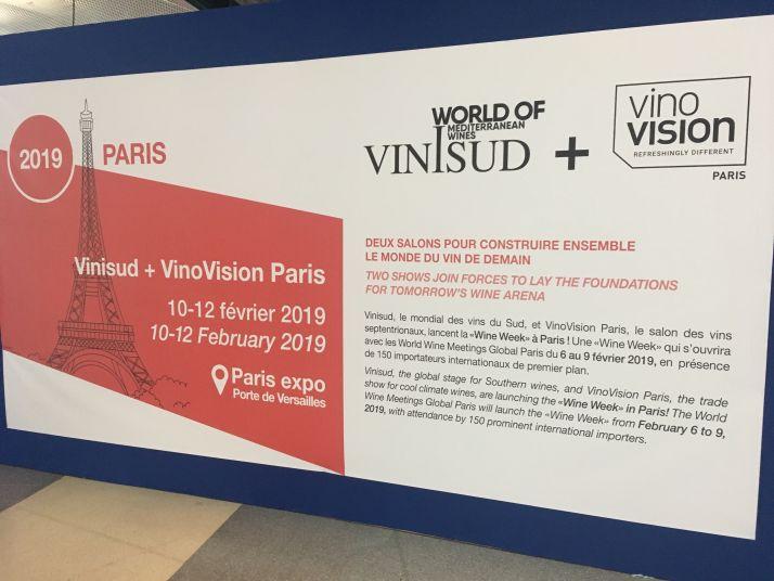 Le salon Vinisud s'associe au salon Vinovision