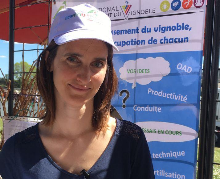 Claire Fersing, responsable des réseaux Miv