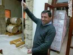 James Palgé du Chateau Ksara au Liban