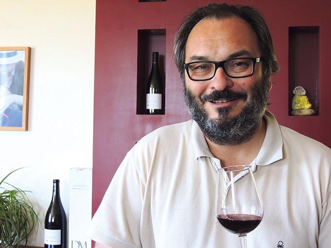 Jean-Frédéric Bistagne, viticulteur dans le Gard.