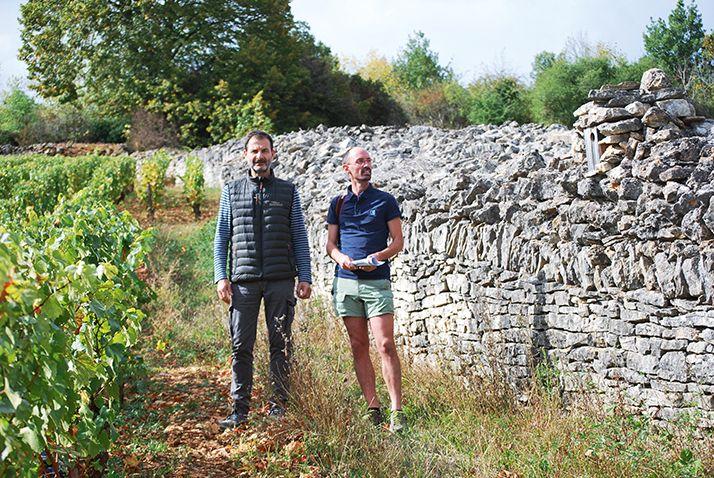 Jean-Marc Roulot (à gauche) et Simon-Pierre Babski, LPO Côte-d'Or et Saône-et-Loire. © E. Thomas/Pixel6TM
