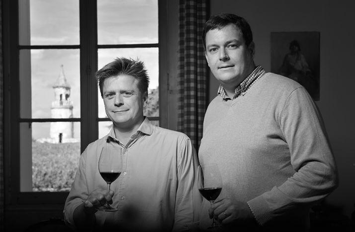 Frédéric Le Clerc, à gauche, accompagné de Benjamin Richer de Forges. Photo : DR