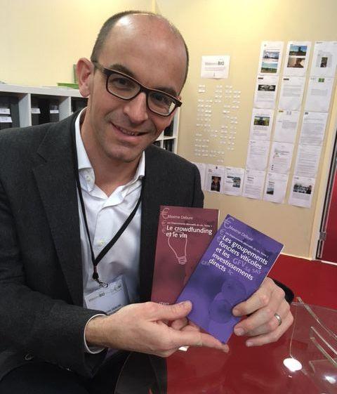 Auteur de livres sur les financements participatifs du vin