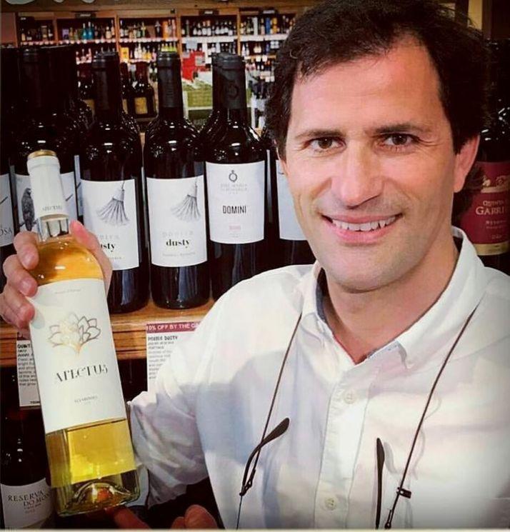 Miguel Fonseca, co-propriétaire du domaine portugais Quinta de curvos