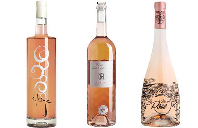 Les magnums de vins rosés sont «tendance». © Verallia