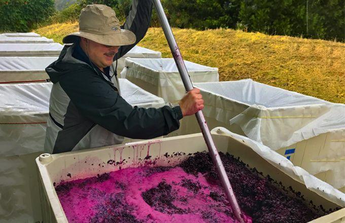 Craig Camp, responsable des vignobles Troon, dans l'Oregon. Photo: DR