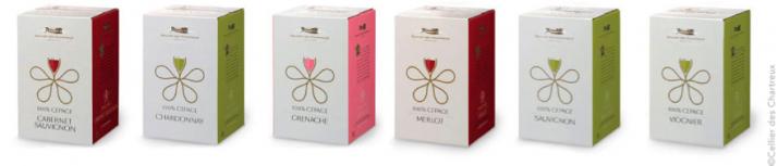 BIB® ou Wine in box, le design est crucial.