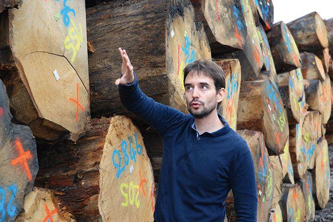 «Nous sommes actuellement dans une de recherche de complexité, possible grâce au bois», explique Thomas Giordanengo, ingénieur R&D chez Radoux. Photos: O. Lévêque/Pixel Image
