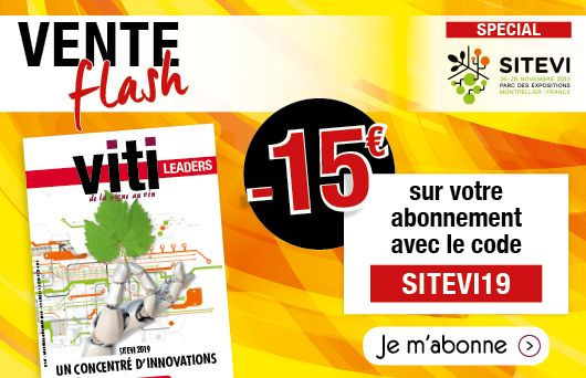 Vente flash abonnement à viti leaders sitevi 2019