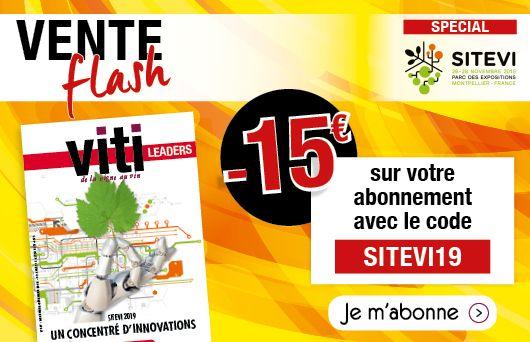 Vente flash abonnement à viti leaders sitevi 2019