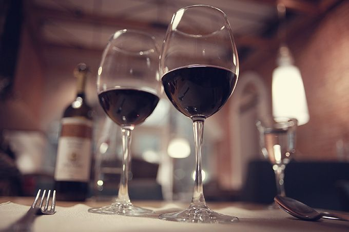 Le vin et la restauration résumés en infographies. Photo : kichigin19/Fotolia