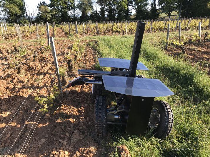Robot de taille Weber Mécanique/Wall-Ye  récompensé sur la salon Agrovina (Suisse)