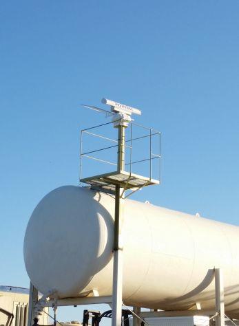 Radar selerys skydetect observant le couvert nuageux pour anticiper le risque de grêle sur la vigne.