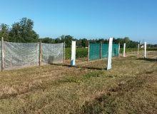 Les résultats suggèrent qu'un positionnement des filets  trop proche du dernier rang traité (1m) est moins  efficace qu'une distance de 3m. © IFV