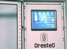 Le système OresteO permet de recycler le CO2 issu de la fermentation alcoolique du vin pour le réinjecter automatiquement selon les besoins de la vinification. CP : Intranox