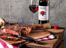 Exemple de recette avec accords mets et vins dédiée à la marque Tussock Jumper.