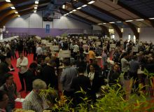 Avec 3 000 personnes accueillies, l'édition 2017 de Découverte en vallée du Rhône a battu son record (ici, le Salon d'Ampuis).
