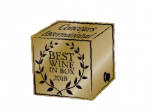 Concours international best Wine in Box