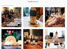 Le tag #degustation dans Instagram