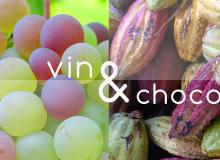 Vin et cacao: deux produits divins.