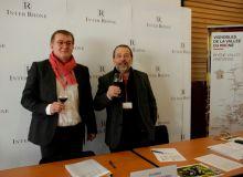 Eric Rosaz et Michel Chapoutier ont présenté les réponses de la vallée du Rhône face aux évolutions de la consommation.