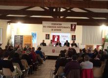 La Fédération des Vignerons Indépendants de Gironde a tenu son assemblée générale annuelle le 9 février 2016.  Photo : VIF Gironde