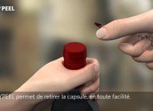 EASYPEEL | Ouverture innovante sur capsules, par Amcor (version française)