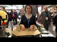 Styl'BIB de Smurfit Kappa : conditonner des poches Bag in box facilement et rapidement