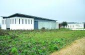 Sorti de terre en2013, le chai du Domaine de Rocheville se veut écoresponsable. Photo : O.Lévêque/Pixel Image