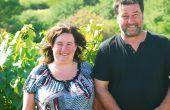 Sandrine et Sébastien Cartaux exploitent 16ha dans le sud-ouest du Jura, essentiellement en cépage chardonnay. Leur gamme couvre le crémant du Jura, l'appellation L'étoile, mais aussi toutes les spécialités jurassiennes: vin de paille, vin jaune, macvin. Photo : E.Thomas/Pixel Image