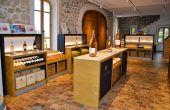 La boutique du château de l'Escarelle est ouverte tous les jours, sauf le dimanche. © C. Even/Pixel 6TM