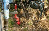 Bertrand Darviot, vigneron au Château de la Velle (Meursault), effectue deux passages par an avec un intercep à disques verticaux, pour couper net l'herbe sous le cavaillon. Photo : B. Darviot/Château de la Velle