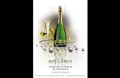 «Créateur de Perles en Bordeaux» est la nouvelle signature publicitaire de la marque Ballarin. Un visuel, simple et élégant, positionne la marque dans l'univers de la joaillerie en évoquant discrètement la vigne en arrière-plan. Cette image sera déployée en annonce presse ainsi que sur tous les supports de communication. Photo : Agence Nouv'LR