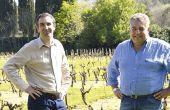 De gauche à droite, Nicolas Garcia et Éric Pastorino, respectivement directeur  et président du syndicat  des côtes-de-provence. Photo : L.Rubio/Pixel Image