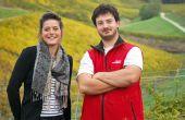 Clémentine Baud et son frère Bastien incarnent la 9e génération de vignerons à la tête du domaine familial. Photos: E.Thomas/Pixel Image