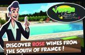 Vinoga quests est un jeu sur Facebook. Son but? Faire découvrir les vins rosés du Sud de la France, grâce à oncle Henri.