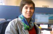 Audrey Guillet est ingénieur en mécanique et robotique. Elle a écrit une thèse sur les flottes de tracteurs autonomes. Photo : Audrey Guillet