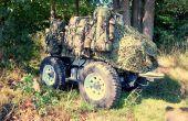 Baudet-Rob augmente la capacité de progression des unités militaires qui opèrent dans des conditions extrêmes dans le monde. Ainsi, il achemine les sacs et matériels des soldats. Photo : C. Tessier