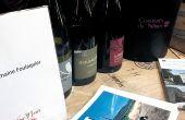 Lors de l'étape languedocienne du wine tour organisé par Gault&Millau, 13vignerons étaient présents dont le domaine Foulaquier, produisant des vins bio certifiés Demeter de l'appellation pic-saint-loup. Photo : S. Favre/Pixel Image