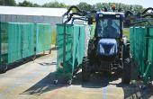 La vigne artificielle EvaSpray Viti permet de simuler une vigne palissée à plusieurs stades de végétation et de noter la qualité  de pulvérisation des équipements testés. Photos: DR