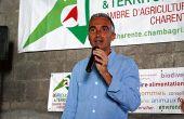 «Il y a encore beaucoup de travail à faire pour que le nettoyage soit facilité sur les outils de pulvérisation confinée», explique Bruno Farthouat, conseiller prévention MSA référent viticulture. CP : O.Lévêque/Pixel Image