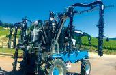 La rampe Poly Jet permet d'économiser 8% de produit phytosanitaire dans les parcelles en pointes. © Étienne Pétré