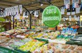 Les aliments concernés  par le programme «zéro résidu de pesticides» sont identifiés par un macaron présent sur les emballages.