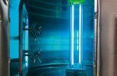 L'UV-Cuve, lancé en août 2020, permet de désinfecter des contenants de grande taille – jusqu'à 200hl – quel que soit le type de matériau: Inox, bois, ciment, etc.