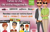 Sharing-box sur le stand viti au vinitech : faites la Une de votre magazine !