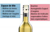 La régularité entre bouteilles d'un même lot s'obtient grâce à la maîtrise de la mise en bouteille  et au choix de l'obturateur. Photo : Nomacorc