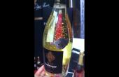Cuvée Arabesque : Ce sparkling destiné aux pays du Golfe associe un vin de chardonnay désalcoolisé avec des paillettes d'or 24 carats.